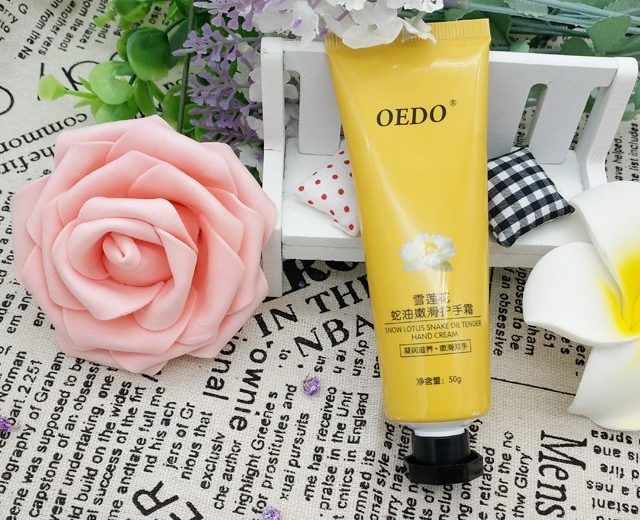 Snow Lotus And Snake Oil Hand Cream