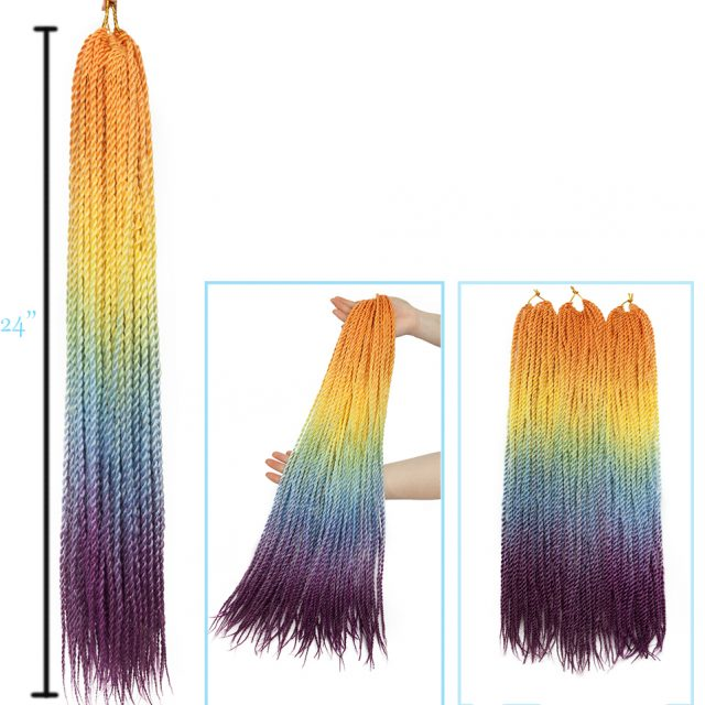 Senegalese Synthetic Hair Crochet Twist  30pack