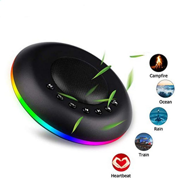 White Noise t Colorful Ambient Light Sound Machine